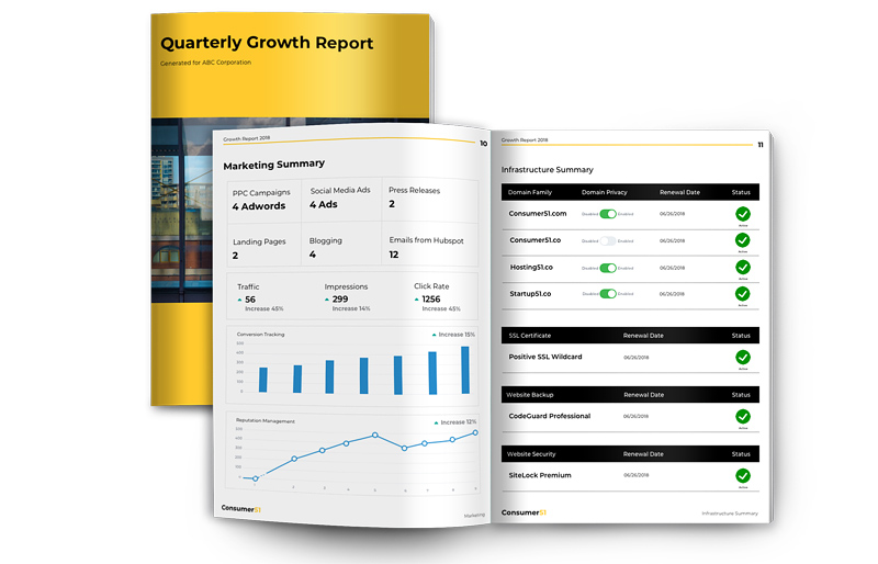 Comprehensive marketing report by Startup51